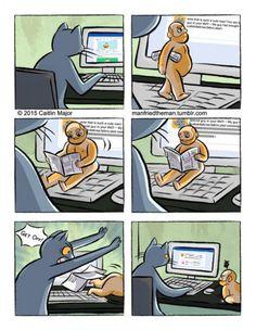 Universo paralelo: humanos y gatos. #humor #risa #graciosas #chistosas #divertidas
