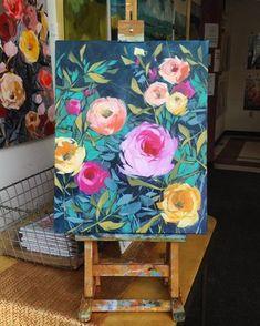 Art Inspo http wwwzaracom us en woman jumpsuits - Woman Jumpsuits Art Floral, Abstract Canvas, Canvas Art, Painting Abstract, Diy Painting, Painting Walls, Kunst Inspo, Acrylic Art, Painting Inspiration