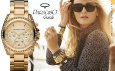 Orologio Michael Kors! Non credete che sia fantastico?????  #Gioielli #Jewels #Watch #Quadrante #Cinturino #Bracciale #Gold