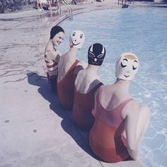 swimming caps