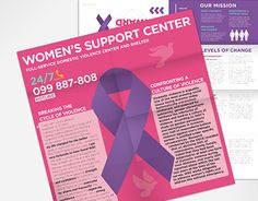 "Check out new work on my @Behance portfolio: ""Women's Support Center – Brochres"" http://be.net/gallery/32455999/Womens-Support-Center-Brochres"