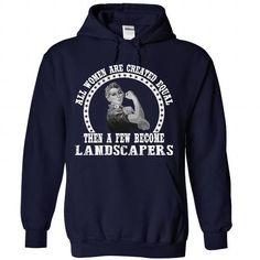 awesome Keep calm and Landscaper T Shirt