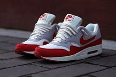 the latest 83e7d 687f7 Nike Air Max 1 О.Г. - Спорт Red   Sneaker   Кит Нью