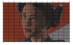 Senator Padme (Star Wars Epsd 3) cross stitch