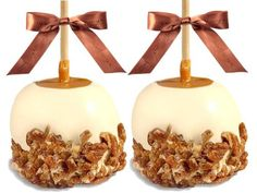 Gourmet Caramel Apples - Chocolate Dunked and Candy Coated Gifts, Set of 2 Milk Chocolate with Oreos