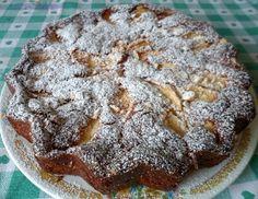 Torta di #mele con #cocco e #cioccolatobianco
