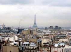 I really want to go back to Paris. I just want it to be warm there when I do.