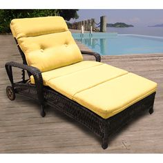 Charleston Double Adjustable Chaise Lounge by North Cape