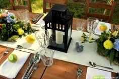 Wedding outdoor, table decor / Wesele w plenerze, dekoracja stołu