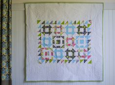 Show Off Saturday Linky Party: I finished my Churn Dash Quilt — SewCanShe | Free Daily Sewing Tutorials