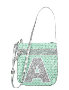 Perforated Initial Crossbody Bag | Girls Fashion Bags & Wallets Bags & Luggage | Shop Justice