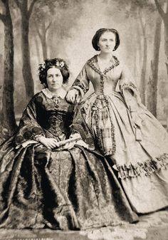 4 Prints Civil War Photos Pairs of Woman and Girls | eBay
