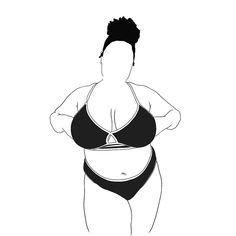 Body Drawing, Woman Drawing, Outline Drawings, Easy Drawings, Cute Girl Drawing, Aesthetic Drawing, Black Artists, Beauty Art, Angel Tattoo Men