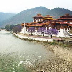 Dzongs are the traditional forts of Bhutan and also serve as monastic and adminstrative centres. The Punakha Dzong is the most significant one from the main 13 districts of Bhutan.  Photo credit: Travel Secrets writer @tanyateeny  #buddhism #bhutan #nature #mountains #dzong #monks  #igers #igersoftheday #igersbhutan #ignation #ig_captures #picoftheday #shotoftheday #instalike #instagood #instapic #instashot #wu_asia #natgeo #like4like #followme #iphonephotography #instamood #instadaily…