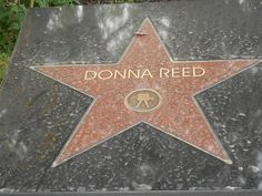 Donna Reed Star of Fame in Denison, Iowa by marcosborn, via Flickr