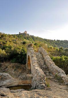 Pont-siphon - Grimaud, Provence-Alpes-Cote d'Azur, France
