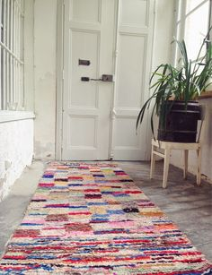 current obsession le tapis boucherouite