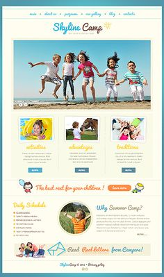 #Joomla #SummerCamp theme(42070). $67. #Camping