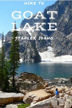in Idaho. Hiking in Stanley, Idaho. Hike one of the most beautiful lakes in Idaho. Hike to Goat Lake. This is rumored to be a hard lake to get to, but we made it! Get the easiest directions to getting there and see how incredibly beautiful Goat Lake is! Star Mobile, Cool Places To Visit, Places To Travel, Travel Destinations, Seen, Just Dream, United States Travel, Travel Usa, Usa Roadtrip