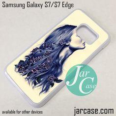 Flower Girl Phone Case for Samsung Galaxy S7 & S7 Edge