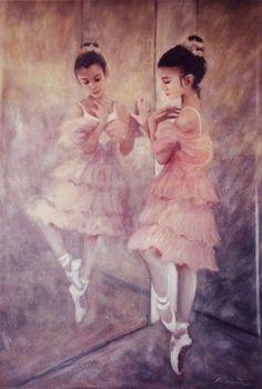 Little ballerina by painter-misic.deviantart.com on @deviantART