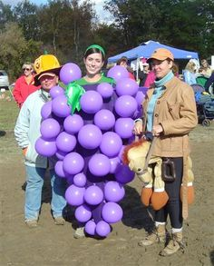 grapes halloween costume