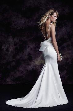 Style 4614 -Paloma Blanca Wedding Dress - http://www.fabmood.com/fall-2015-paloma-blanca-wedding-dress-collection #weddingdress