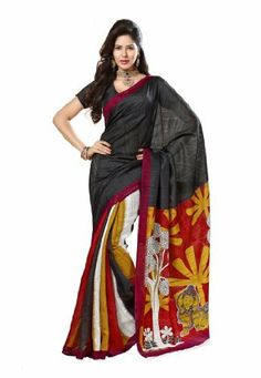 Indian Designer Wear Chappa Silk Black Printed Saree Fabdeal, http://www.amazon.de/dp/B00ID5O0H8/ref=cm_sw_r_pi_dp_Qr6otb0TG9SNE