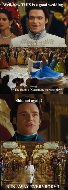 Richard Madden (Robb Stark) in the Cinderella movie. How it is really gonna be.