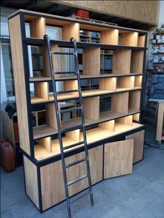 biblioth ques ambiance factory biblioth que sous. Black Bedroom Furniture Sets. Home Design Ideas