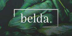 Font dňa – Belda   https://detepe.sk/font-dna-belda?utm_content=buffer07fcd&utm_medium=social&utm_source=pinterest.com&utm_campaign=buffer