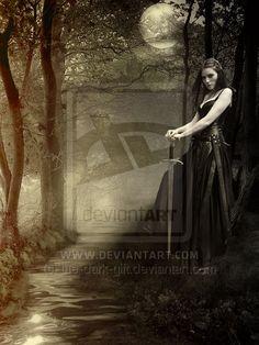 Morganna of the Lake by the-dark-gift.deviantart.com on @deviantART