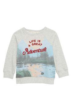 6e90de664 Peek Adventure Crew Graphic Sweatshirt (Toddler Boys, Little Boys & Big Boys)  | Nordstrom