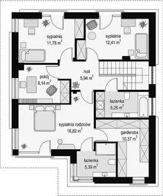 zł – EXTRADOM House design Titan – construction cost 134 thousand. Low Cost House Plans, Free House Plans, Simple House Plans, Family House Plans, Modern House Plans, House Floor Plans, 2 Storey House Design, Duplex Design, 20x30 House Plans
