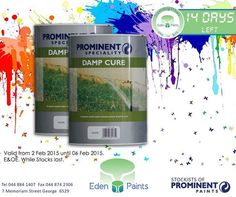 14 days left of our birthday countdown and we have great deals! Like  damp cure for only R Offer valid from the - of Feb, while stocks last, E&OE. Birthday Countdown, 21st Birthday, The Cure