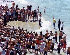 Chuck Smith and Calvary Chapel Baptisms circa 1970  CA