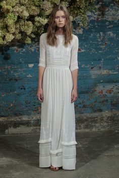 non tradditional wedding dress http://itgirlweddings.com/14-top-looks-from-nyfw/
