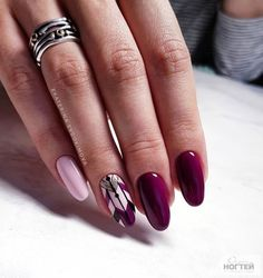 Дизайн Ногтей 2018 Oval Nail Art, Oval Nails, Oval Shaped Nails, Latest Nail Designs, Latest Nail Art, Nail Art Designs, Fashion Design, Fashion Art, Almond Nails