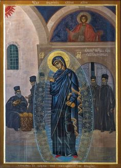 Miraculous Appearance of Mother of God in Panteleimon Monastery
