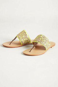 anthropolgie cannes sandals