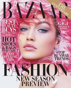 """673.3k Likes, 1,314 Comments - Gigi Hadid (@gigihadid) on Instagram: """"So very grateful for my newest @harpersbazaarus cover(s) and an unforgettable visit to #NASA…"""""""