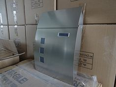 MPB931 Modern Stainless Steel Newspaper Holder Urban Mailboxes - QUALITY IS TOP, ANTI-RUST, STURDY AS REVIEWS FROM CLIENT amoylimai http://www.amazon.com/dp/B00IXZ7H50/ref=cm_sw_r_pi_dp_dgvUvb0A6FSYK