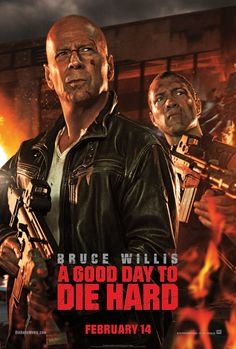 """Win advance-screening movie passes to """"A Good Day to Die Hard"""" starring Bruce Willis courtesy of HollywoodChicago.com! Win here: http://ptab.it/vF6s"""