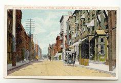 Autos, Hollis St, Queen Hotel, Halifax Nova Scotia
