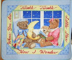 http://pinterest.com/pin/246361042086896685/  Twinkle quilt will be embroidered with the child's FIRST name.   $30 value