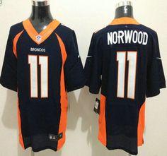 Nike Denver Broncos Jersey #11 Jordan Norwood 2013 New Style Blue Elite Jerseys