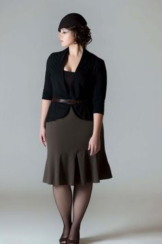 Plus Size Business Suit