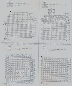 Materiales gráficos Gaby: Apliques en crochet