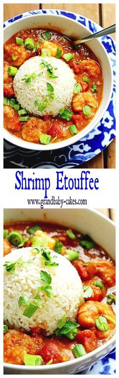 Shrimp Etouffee | Grandbaby Cakes #mardigras