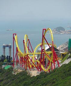 Hair Raiser - Ocean Park (Hong Kong Island, Hong Kong, China)